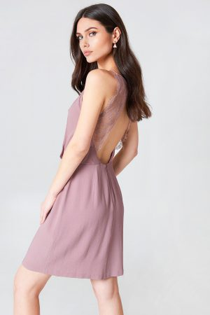 Samsoe & Samsoe Willow Short Dress - Pink