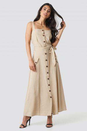 Sisters Point Bina Dress - Beige