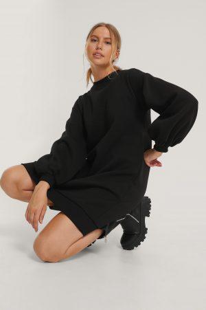 Trendyol Tröjklänning - Black