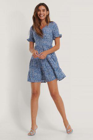 Trendyol Miniklänning I Singoallamodell - Blue