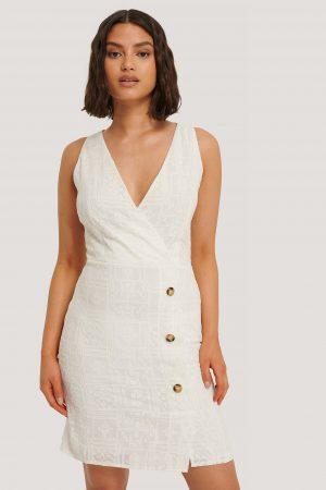 Trendyol Miniklänning - White