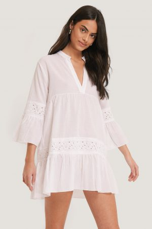 Trendyol Vid Miniklänning - White