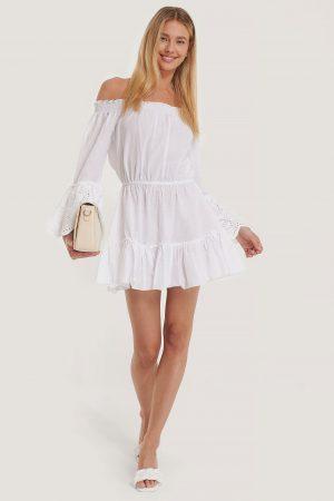 Trendyol Strandklänning - White