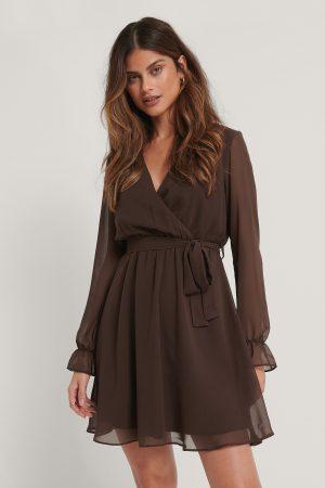 Trendyol Miniklänning - Brown