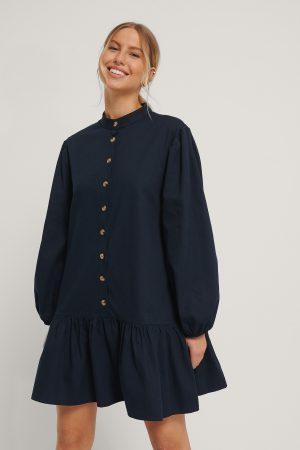 Trendyol Vid Miniklänning - Navy