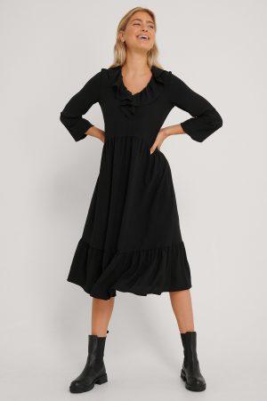 Trendyol Klänning Med Detaljer - Black