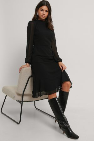 Trendyol Midiklänning - Black