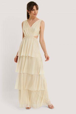 Trendyol Aftonklänning - Beige