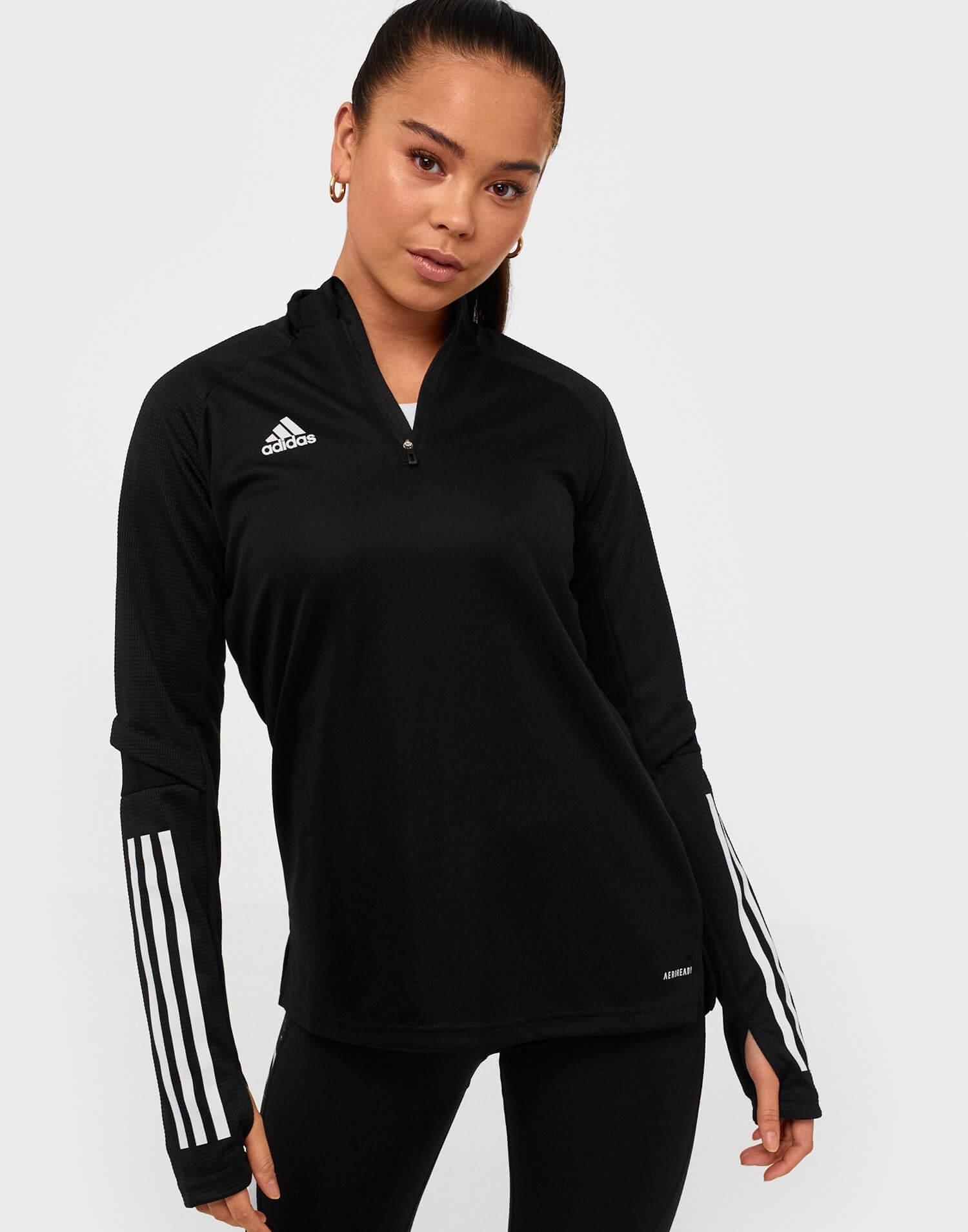 En svart träningströja från Adidas Sport Performance.