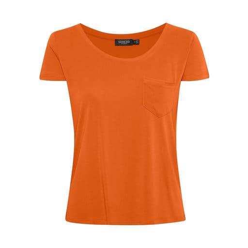 Orange t-shirt för dam 2021
