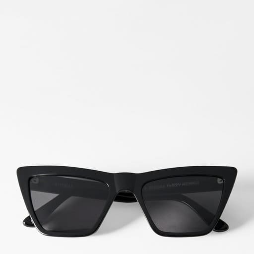 Oversized cateyesolglasögon för dam