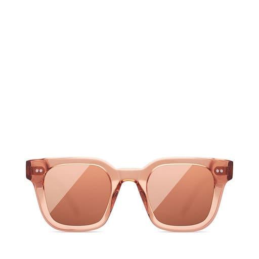 Stora rosa fyrkantiga solglasögon för dam 2021