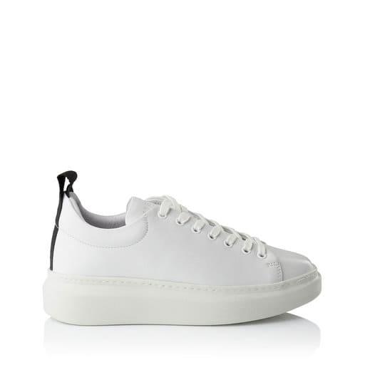 Vita och lila sneakers för dam