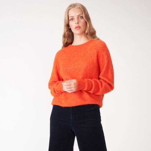 Orange tröja för dam 2021