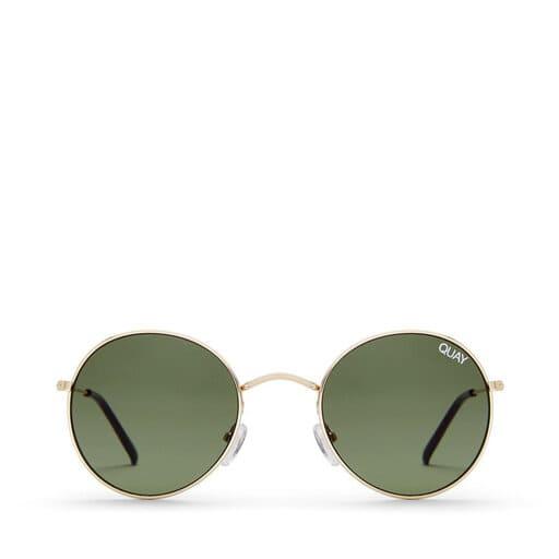 Runda och nätta solglasögon för dam 2021
