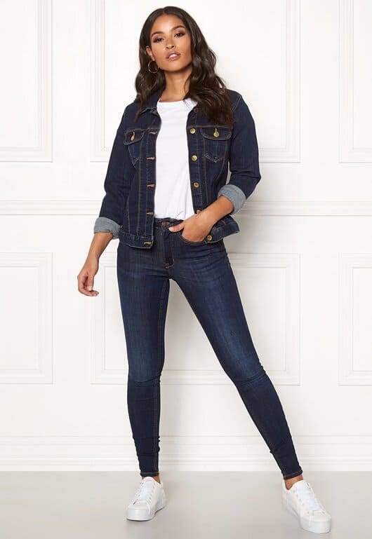 Jeansjacka för dam