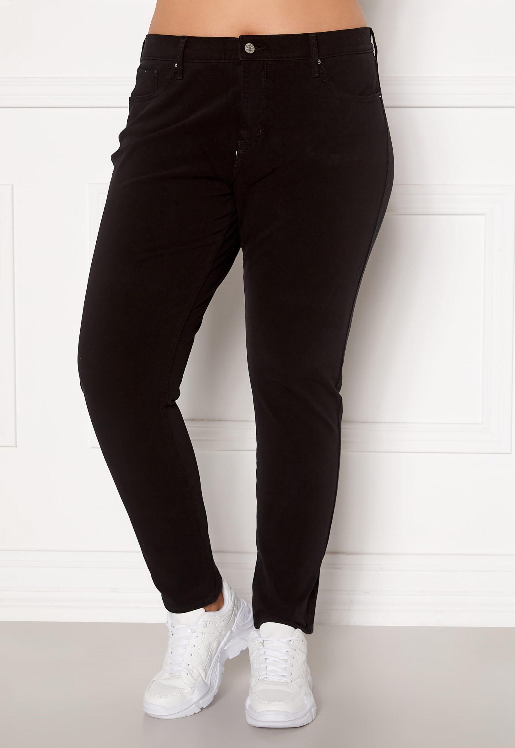 Ett par skinny jeans i plussize-modell från Levi's.