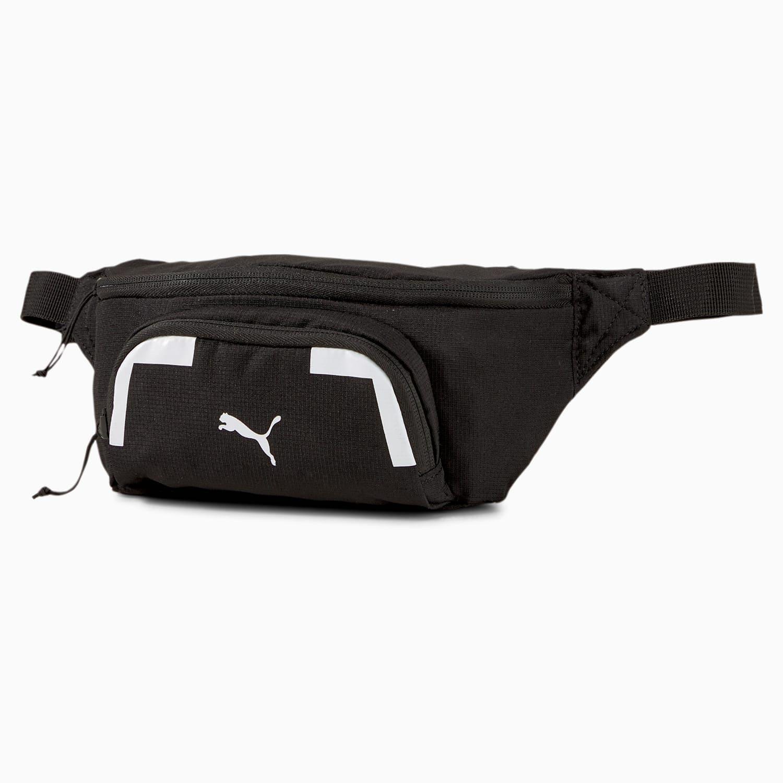 Svart magväska från Puma med reflex logga