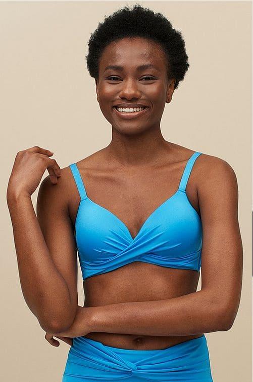 Bikini bh i en härlig blå färg