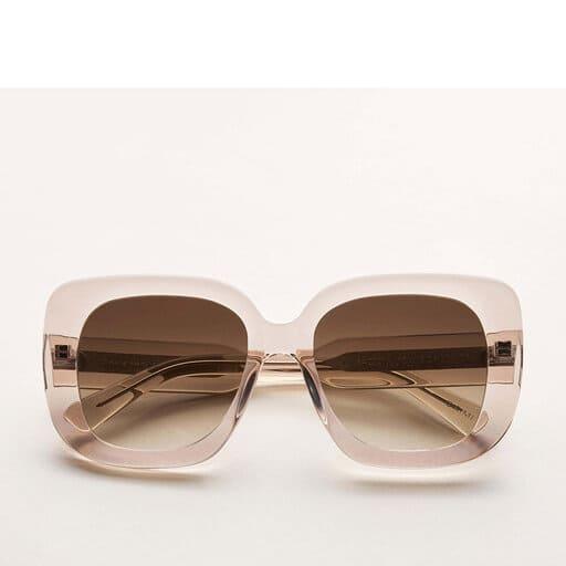 Oversized fyrkantiga solglasögon för dam