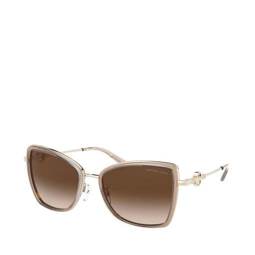 Ljusrosa solglasögon från Michael Kors