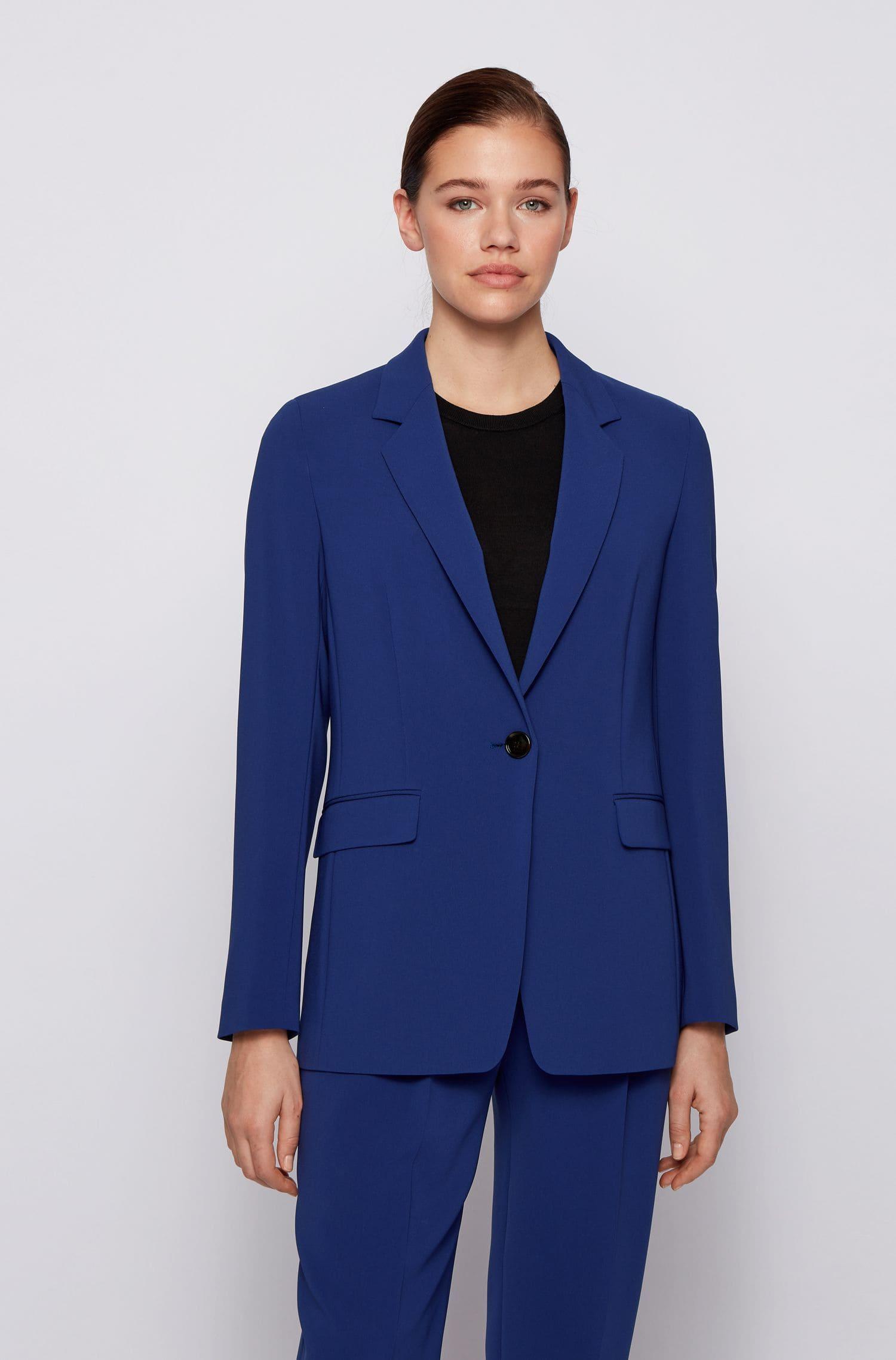 Blå kostym kvinna från Hugo Boss