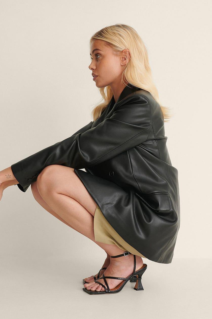 Sandaler i svart för dam