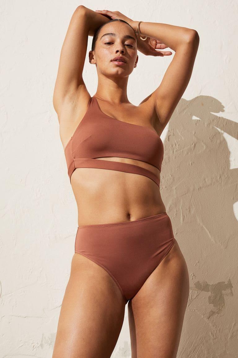 One-shoulder bikinitopp 2021