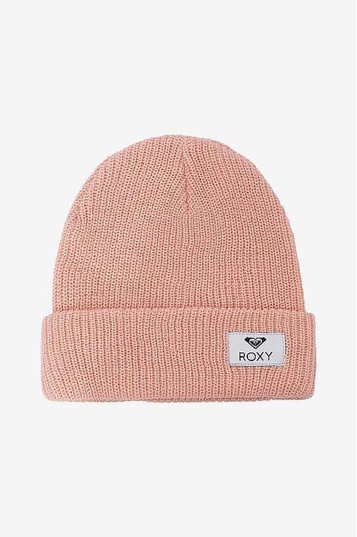Mjuk, stickad mössa i rosa från Roxy