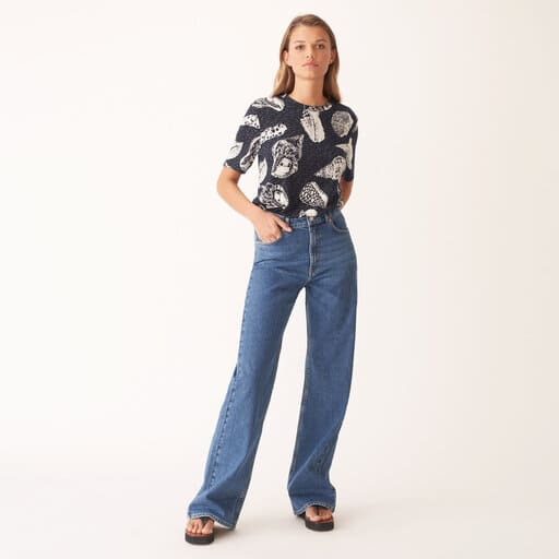 Vida, stretchiga jeans för dam 2021
