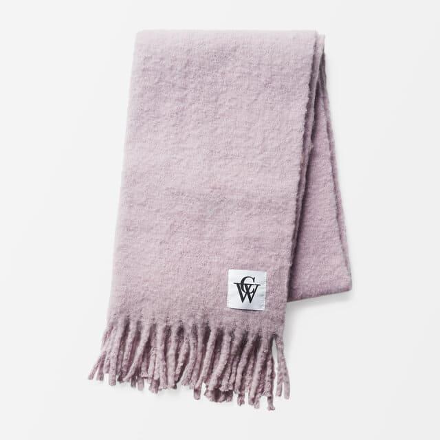 Lila mjuk halsduk för dam 2021
